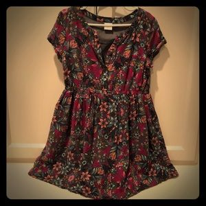 Gymboree floral girls dress, size 6